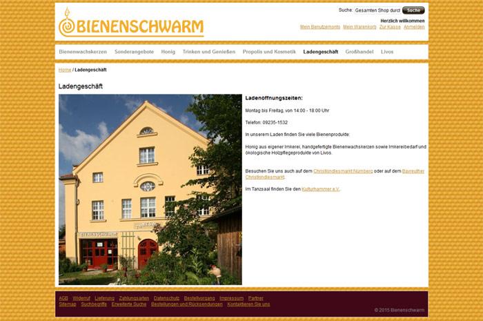 bienenschwarm.de Der Bienenschwarm Imkermeister Helmut und Juliane Tietz