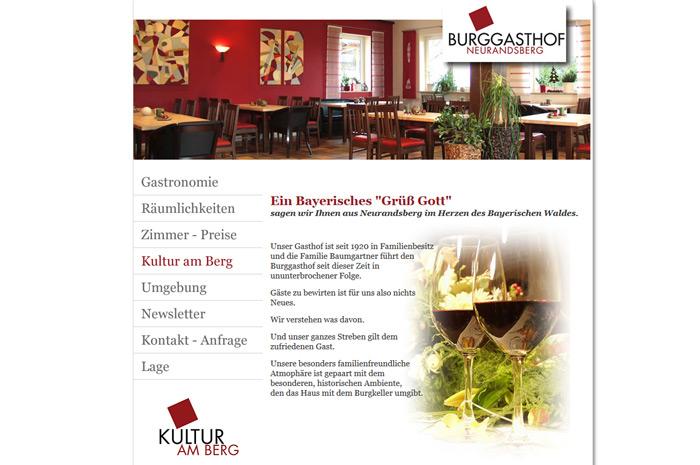 burg-gasthof.de Im Herzen des Bayerischen Waldes. Burggasthof Neurandsberg