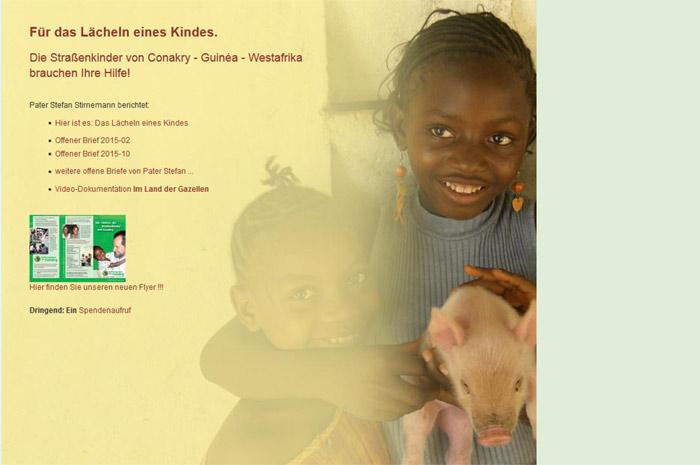 conakry-hoffnungsstern.eu Für das Lächeln eines Kindes. Hoffnungsstern über Conakry e.V.