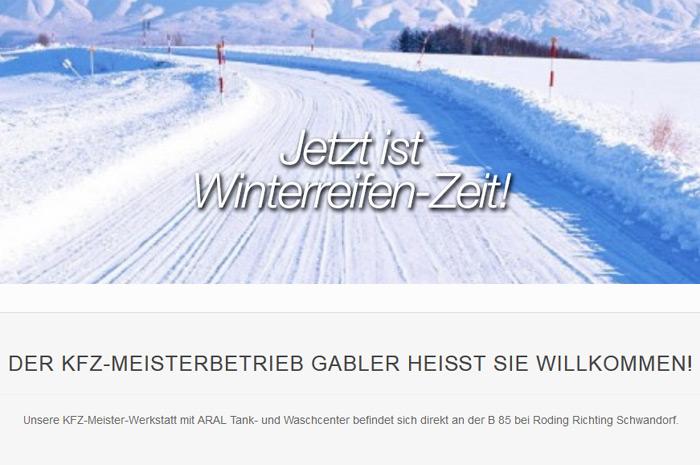 kfzservice-gabler.de Wenn´s um´s Auto geht: KFZ Meisterbetrieb August Gabler