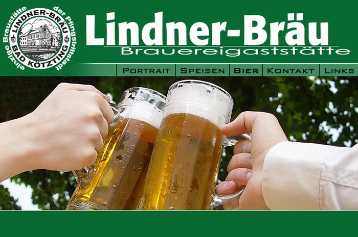 lindner-bier.de Der Lindner Bräu in Bad Kötzting ist da, wo das Bier wirklich wohnt!