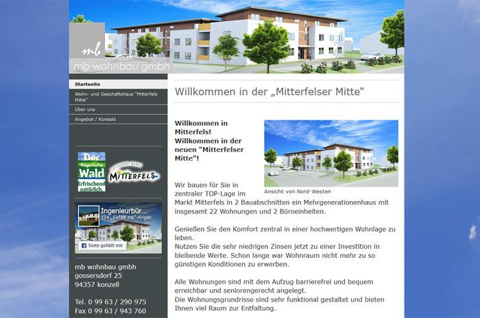 mb-wohnbau-gmbh.de Herzlich Willkommen in der neuen