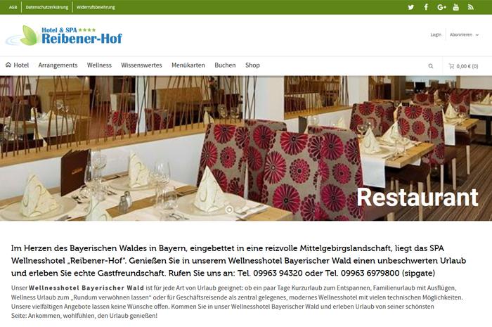 reibener-hof.de Wellnesshotel Bayerischer Wald Reibener-Hof